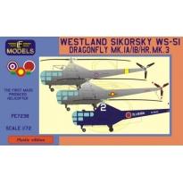 Westland Sikorsky WS-51 Dragonfly Thai, Ceylon, Japan (1:72)