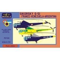 Sikorsky S-51 France, Argentina, Venezuela (1:72)