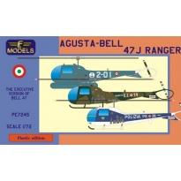 Agusta-Bell 47J Ranger (Italian Navy, Italian Army, Italian Police) (1:72)
