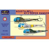 Agusta-Bell 47J Super Ranger (Carabinieri, Italian SAR, Italian AF) (1:72)