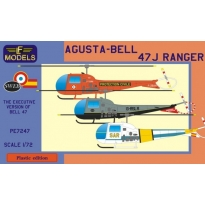Agusta-Bell 47J Ranger (France, UK, Spain) (1:72)