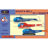 Agusta-Bell 47J Ranger (Yugoslavian AF, RDAF, RNoAF) (1:72)
