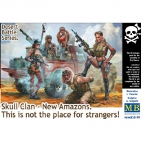 """""""Desert Battle Series. Skull Clan - New Amazons. This is not the place for strangers!"""" (1:35)"""