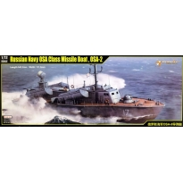 Russian Navy OSA Class Missile Boat OSA-2 (1:72)