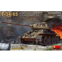 T-34/85 Composite Turret (Factory 112, Summer 1944) - Interior Kit (1:35)