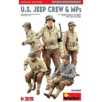 U.S. Jeep Crew & MPs. Special Edition (1:35)