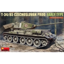 T-34-85 Czechoslovak Prod. Early Type (1:35)