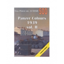 Militaria 500 Panzer Colours 1939 vol. II