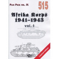 Militaria 515  Afrika Korps 1941-1943 vol.I