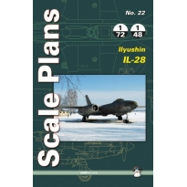 Scale Plans No.22 Ilyushin Il-28 (1:72,1:48)