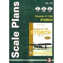 Scale Plans No.28 Fieseler Fi 156 Storch (1:72,1:48,1:32)