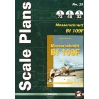 Scale Plans No.29 Messerschmitt Bf 109F (1:72,1:48,1:32)
