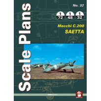 Scale Plans No.32 Macchi C.200 Saetta (1:72,1:48,1:32)