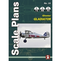 Scale Plans No.33 Gloster Gladiator (1:72,1:48,1:32)