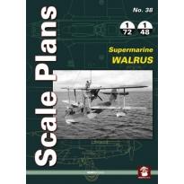 Scale Plans No.38 Supermarine Walrus (1:72,1:48)