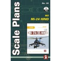 Scale Plans No.39 Mil Mi-24 Hind (1:72)