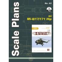 Scale Plans No.63 Mil Mi-8/17/171 Hip (1:72)