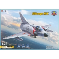 Mirage IIIC all-weather interceptor (1:72)
