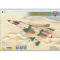 "Mirage IIICJ  ""Shahak"" (5 camo schemes) (1:72)"
