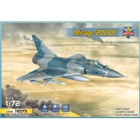 Mirage 2000C multirole jet fighter (1:72)