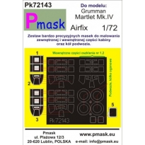 Martlet Mk.IV: Maska (1:72)