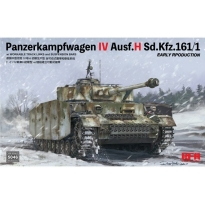 Panzerkampfwagen IV Ausf.H Sd.Kfz.161/1 Early Production w/workable track links and suspension bars (1:35)