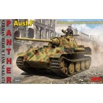 German Medium Tank Sd.Kfz.171 Panther Ausf.F w/workable track links & Kw.K 42 L/70 & Kw.K 42 L/100 (1:35)