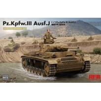 Pz.Kpfw.III Ausf.J with full interior kit (1:35)