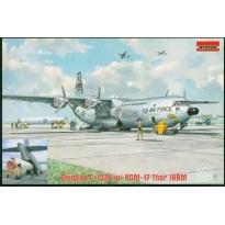 Douglas C-133A w/PGM-17 Thor IRBM (1:144)