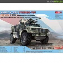 Russian Wheeled Armored Vehicle Typhoon VDV K-4386 with 30mm 2A42 cannon (1:35)