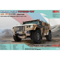 Russian Wheeled Armored Vehicle Typhoon VDV K-4386 Mine Protection Type Early Model (1:35)