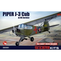 Piper J-3 Cub in US Service (1:48)
