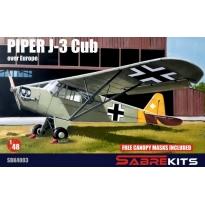 Piper J-3 in Europe (1:48)