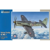 "Fairey Firefly AS Mk.7 ""Anti-Submarine Version"" (1:48)"
