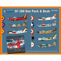 SIAI-Marchetti SF-260 Duo Pack & Book (1:72)