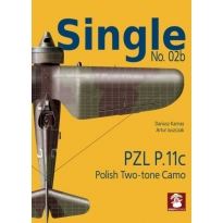 Stratus Single Nr.02b PZL P.11c polish two-tone camo