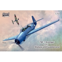 TBF-1 Avenger over Midway and Guadalcanal (1:72)