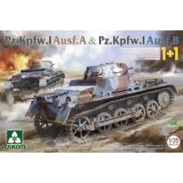 Pz.Kpfw.I Ausf.A & Pz.Kpfw.I Ausf.B (2 kits) (1:35)