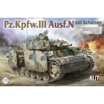Pz.Kpfw.III Ausf.N mit Schürzen (1:35)