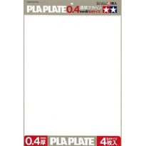 Płyta polistyrenowa 0,4 mm format B4 (4 arkusze)