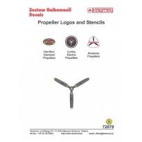 Propeller Logos and Stencils (1:72)
