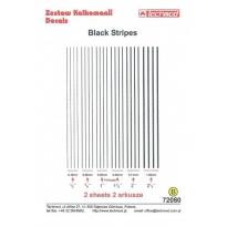 Black Stripes (1:72)