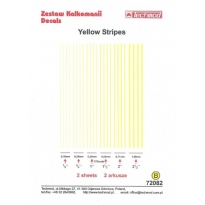 Yellow Stripes (2 arkusze) (1:72)