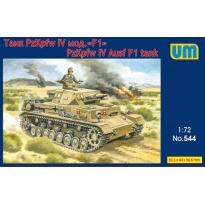 Tank Panzer IV Ausf F1 (1:72)
