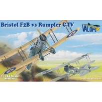 Bristol F2B vs Rumpler C.IV (Duels on the sky) (1:144)