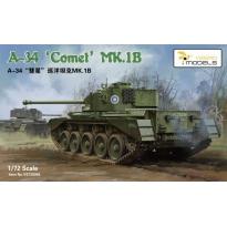 "A34 ""Comet"" Mk.IB Cruiser Tank (1:72)"
