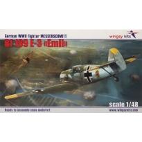 German WWII Fighter Messerschmitt Bf 109 E-3 (1:48)