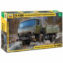 Zvezda 3692 Russian 2-Axle Truck K-435 (1:35)