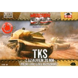First to Fight TKS Polska tankietka z działkiem 20 mm (1:72)