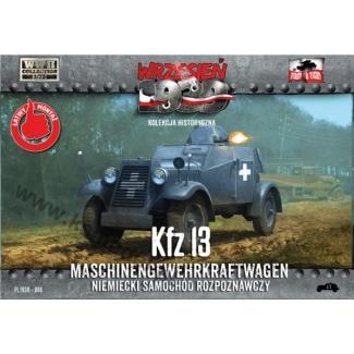 First to Fight Kfz 13 Niemiecki samochód rozpoznawczy (1:72)